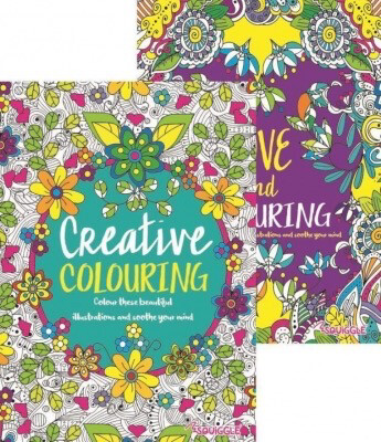 Colour Therapy Book PURPLE