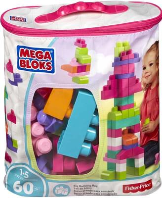 Mega Bloks 60pcs Building Bag