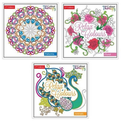 Colour Therapy Book Assorted