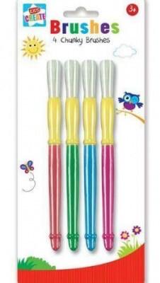 4 Chunky Paintbrushes