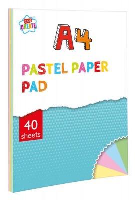 A4 Pastel Paper Pad