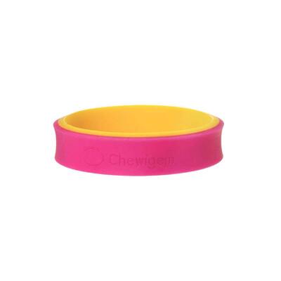 Chewigem Pink & Yellow Flip Bangle