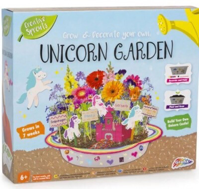 Grow And Decorate Your Own Unicorn Garden