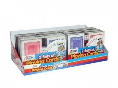 2 Packs Playing Cards & Dice