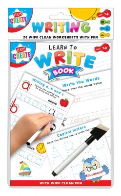 A5 Wipe Clean Learn To Write