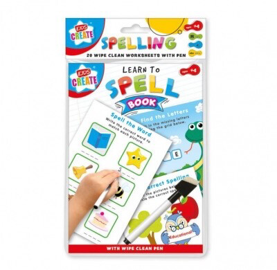 A5 Wipe Clean Learn to Spell