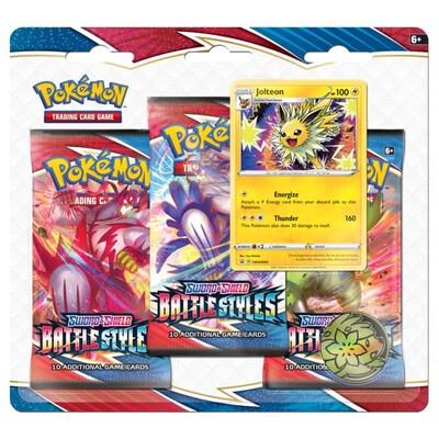 Pokemon Sword & Shield 5 Battle 3 Pack Booster