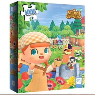 1000 Pcs Animal Crossings Puzzle