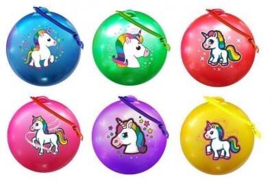 Unicorn Fruit Scented Ball with keyring