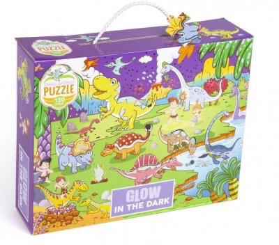 Glow In Dark Dinosaur Puzzle