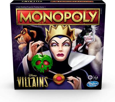 Disney Monopoly Villains