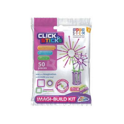 Clicksticks Building Kit PINK