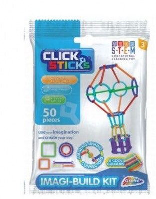 Clicksticks Building Kit BLUE