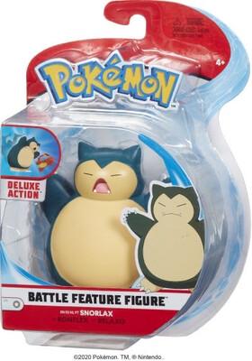 """Pokemon Battle Feature 4.5"""" Figure Snorlax"""