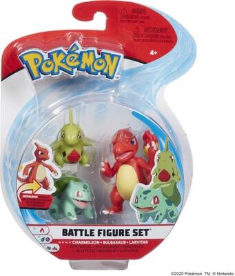 Pokemon Larvitar, Bulbasaur, Charmeleon