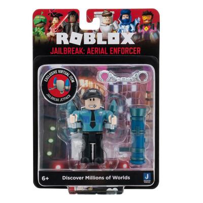 Roblox Jailbreak Metal Enforcer Figure
