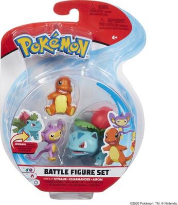 Aipom, Charmander, IvySaur Pokemon Figures