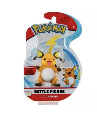 Raichu Pokemon Figure