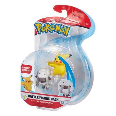 Pikachu & Wooloo Figure