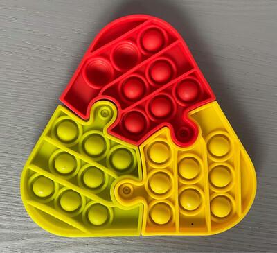 Jigsaw Bubble Poppit Fidget