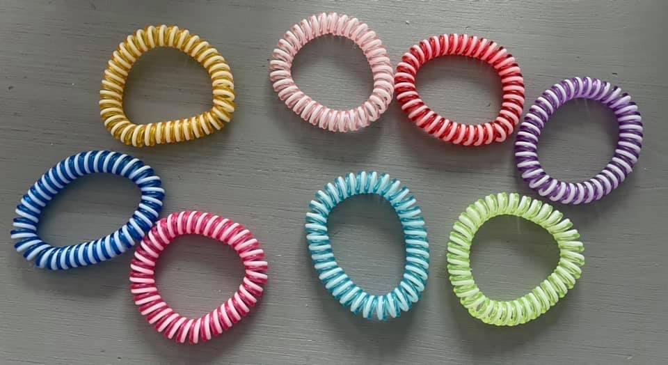 Candy Striped Bracelets