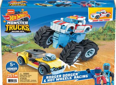 Hot Wheels Monster Trucks - Rodger Dodger Racing