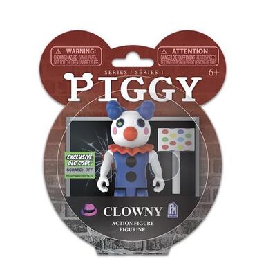 Clowny Piggy Figure