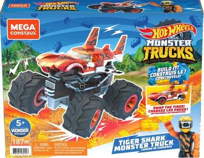 Hot Wheels Tiger Shark Monster Trucks
