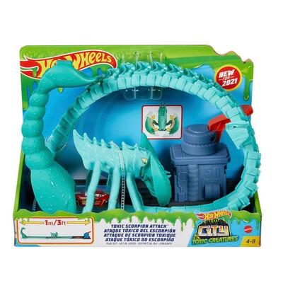 Hot Wheels Toxic Scorpion Attack
