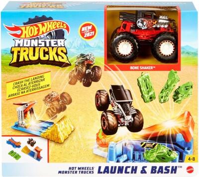 Hot Wheels Monster Trucks Launch & Bash