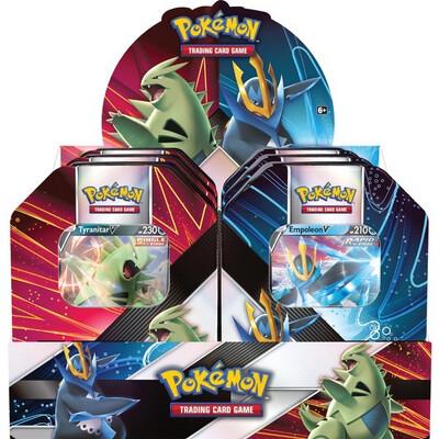 Pokemon Strikers Tin