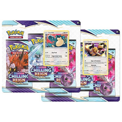 Pokemon Chilling Reign Triple Booster Pack