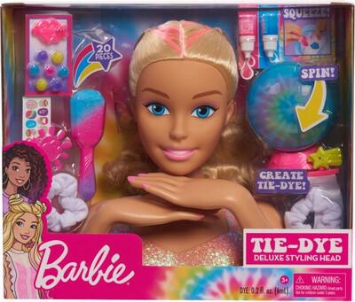 Barbie Deluxe Tie Dye Styling Head