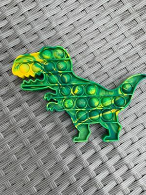 Dinosaur Bubble Popper Fidget Green/yellow