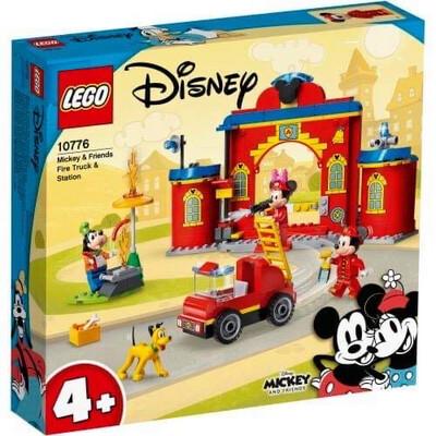 10776 Mickey & Friends Fire Truck
