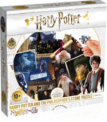 Harry Potter 500pc Pizzle