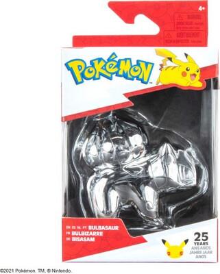 Pokemon 25th Anniversary Silver Bulbasaur