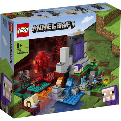 21172 Minecraft The Ruined Portal