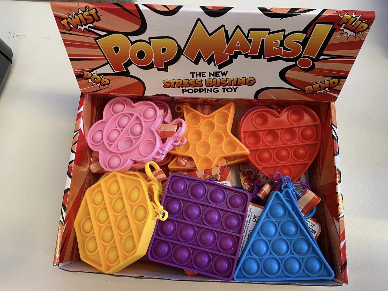 Bubble Pop Mates Shape with clip