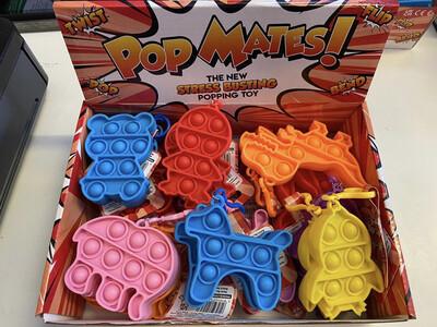 Bubble Pop Mates with clip