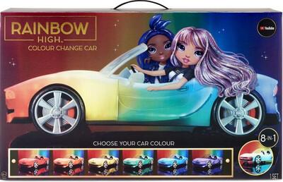 Rainbow High Colour Change Car