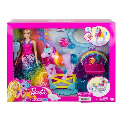 Barbie Unicorn Play Set