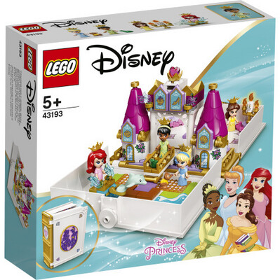 43193 Ariel, Belle, Cinderella & Tiana's Storybook