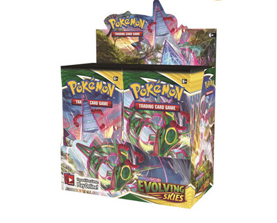 Pokemon Evolving Skies Untouched Box 36 Booster Packs