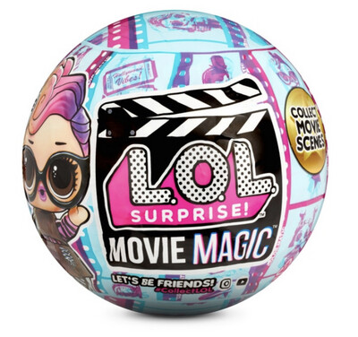 ⚠️ PREORDER 18th September ⚠️ LOL Surprise Movie Magic Untouched Box of 12