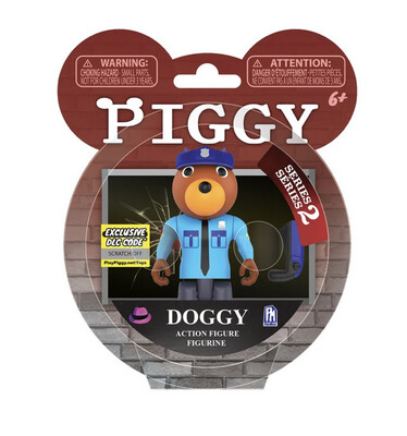 Piggy Series 2 Doggy Figure
