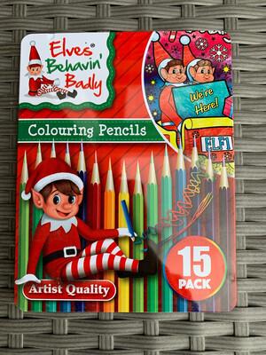 Elf Pencils In Deluxe Tin