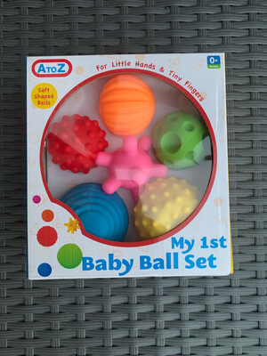 Baby Sensory Ball Set