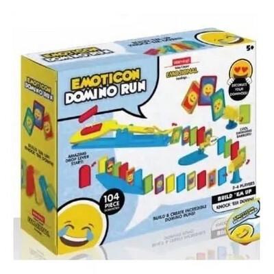 Emoticon Domino Run