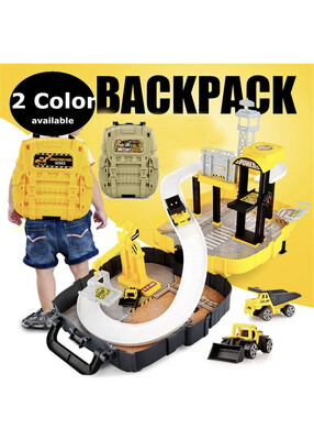 Construction Back Pack Play Set